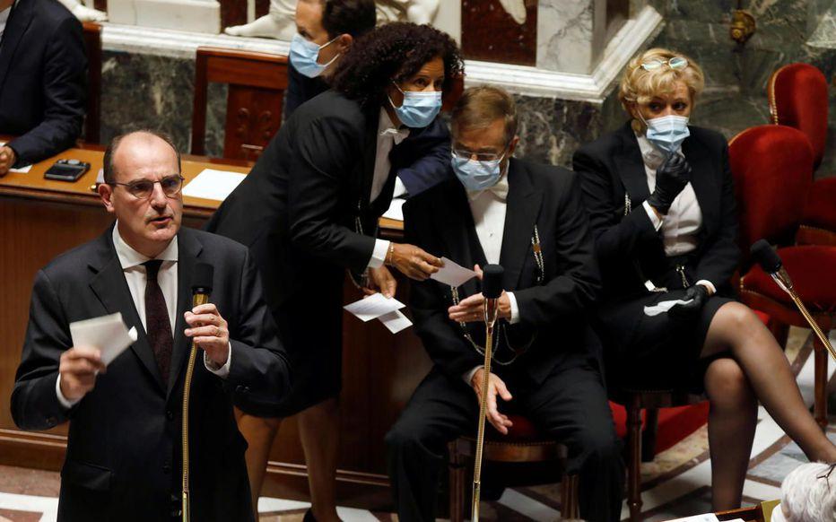 法国国民议会面对集群感染风险 迄今已有百余人感染新冠 - 法国频道 - 海外网