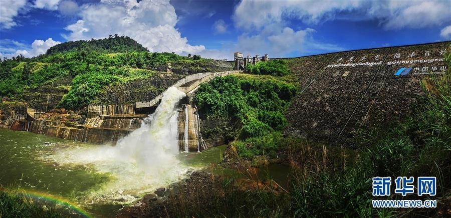(国际·图文互动)(2)通讯:践行绿色发展 持续造福民生——记中国华电柬埔寨额勒赛水电站项目
