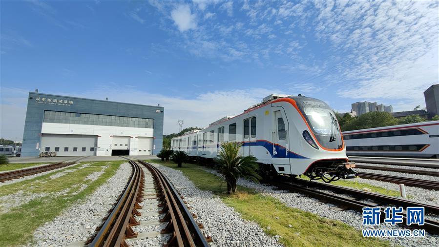 """(图文互动)(2)""""中国造""""轨道交通装备产品出口墨西哥"""