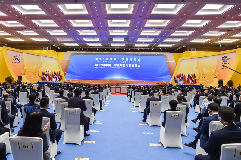 11月27日,第17届中国-东盟博览会和中国-东盟商务与投资峰会在广西南宁开幕。(图源:新华社).jpg