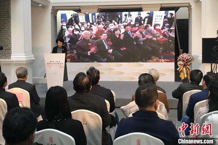 北京市文联常务副主席陈宁在北京会场致辞。 路梅 摄