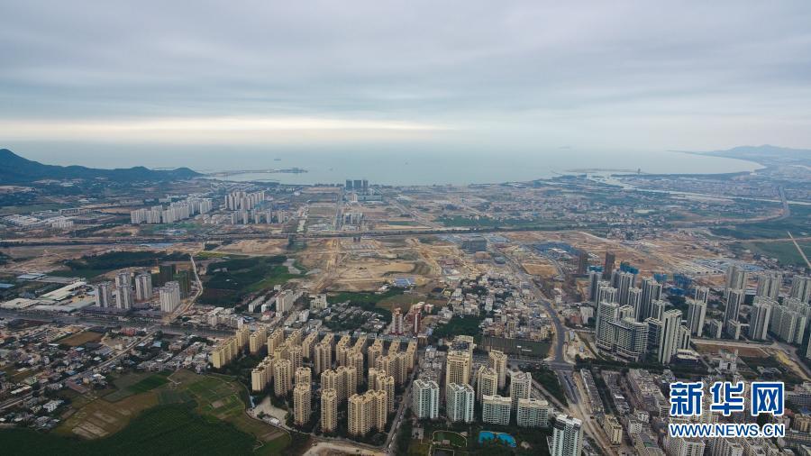 海南三亚:崖州湾科技城建设有序推进