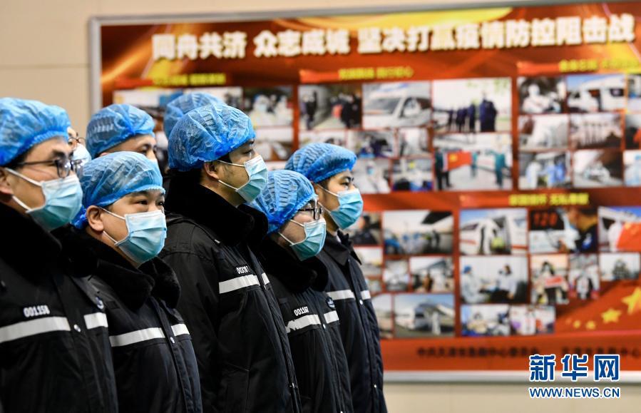 天津:冬夜启程 支援河北