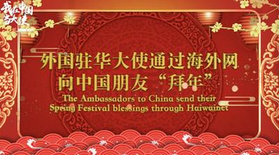 """【我在中国当大使】""""祝中国朋友春节快乐,牛年大吉!"""""""