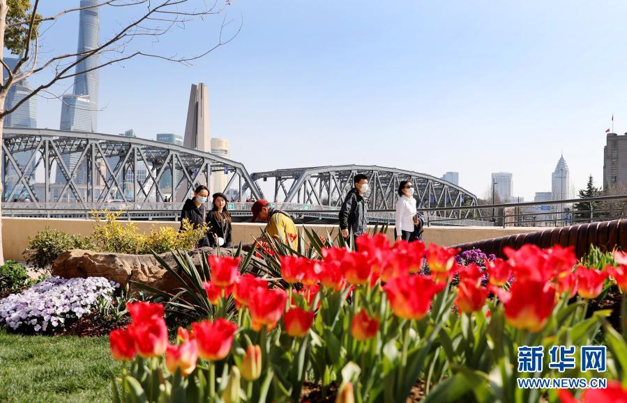 上海:苏州河畔沐春光