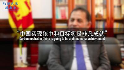 """【驻华大使看两会】""""中国实现碳中和目标将是非凡成就"""""""