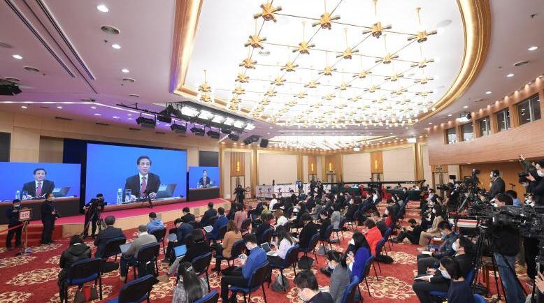 回放:十三届全国人大四次会议新闻发布会