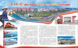 """防城港 做好""""老新特""""三篇文章 构建""""海边山""""现代产业体系"""