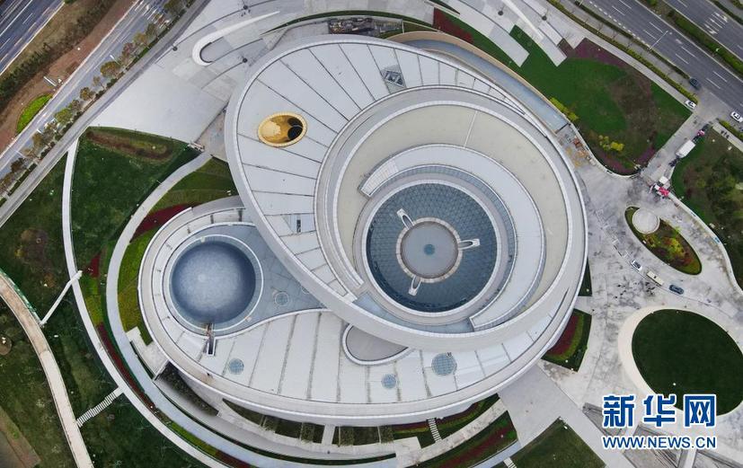 俯瞰上海天文馆