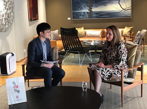 挪威驻华大使:白思娜