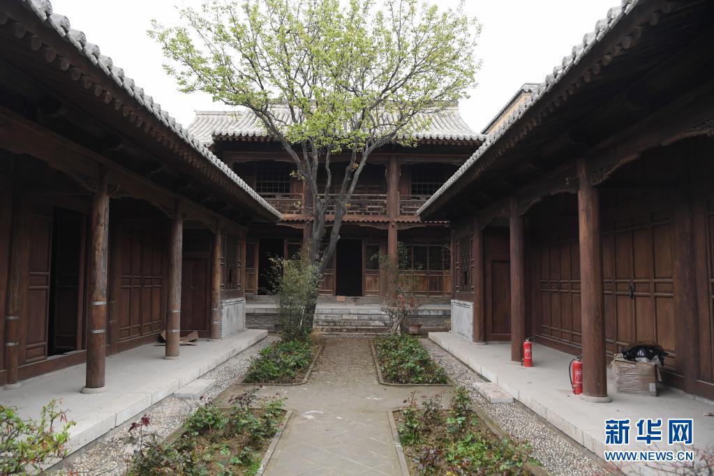 甘肃天水:修缮古建民居 传承历史记忆