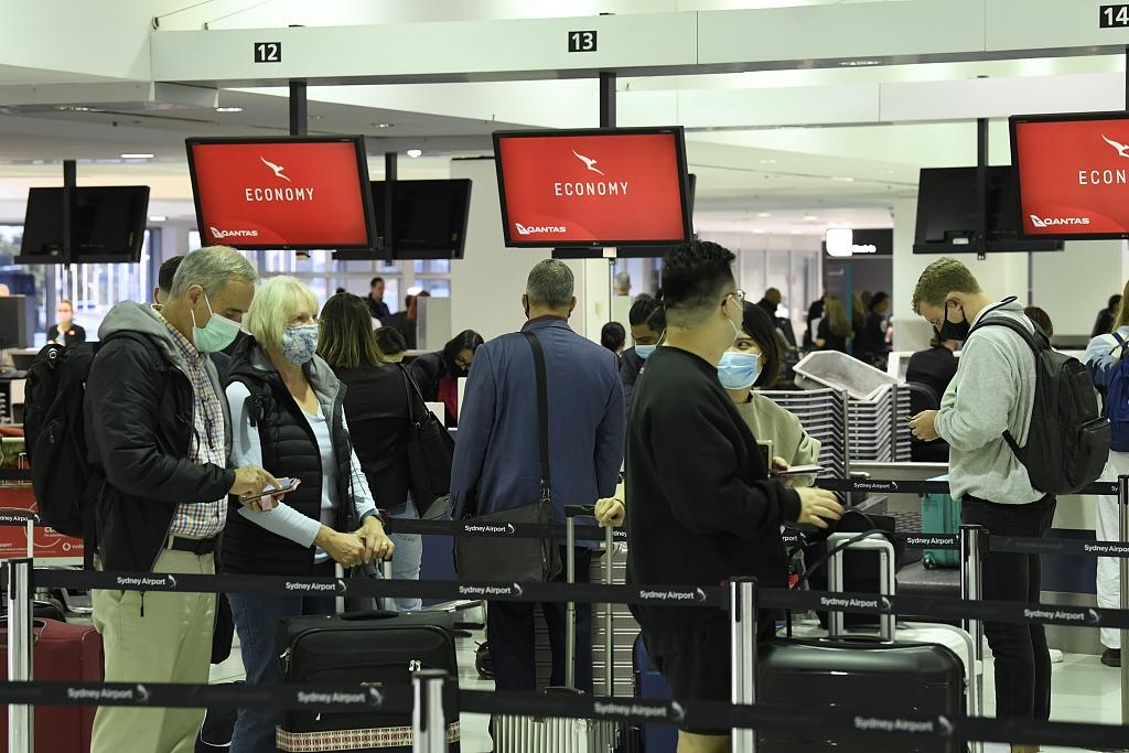 澳大利亚和新西兰互免隔离旅行启动 澳机场旅客激增