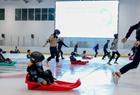 访华中最大冰上运动中心