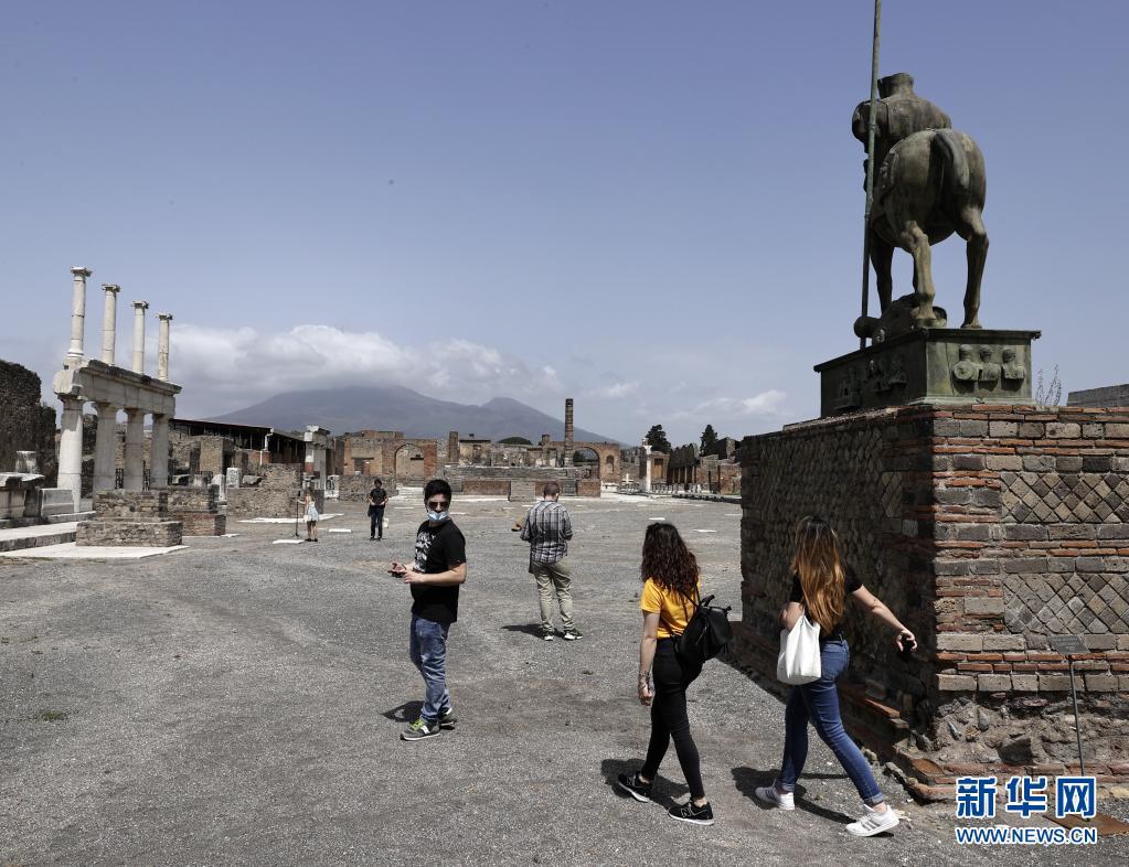 庞贝古城再次重新开放
