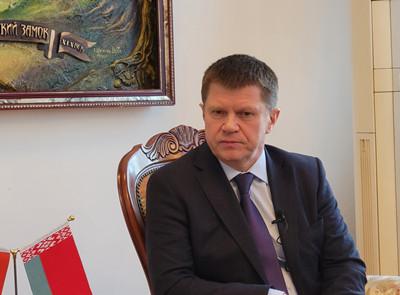 白俄罗斯驻华大使:尤里·先科