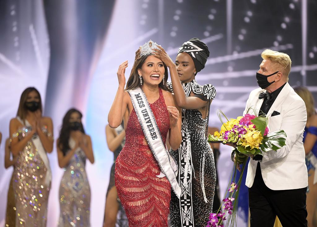 2021年环球小姐选美大赛结果出炉 墨西哥佳丽夺冠