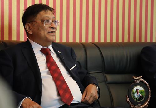 马达加斯加驻华大使:袁隆平是一位伟大的学者