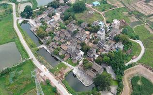 江门鹤山市雅瑶镇腾赤龙村:挖掘古村落价值