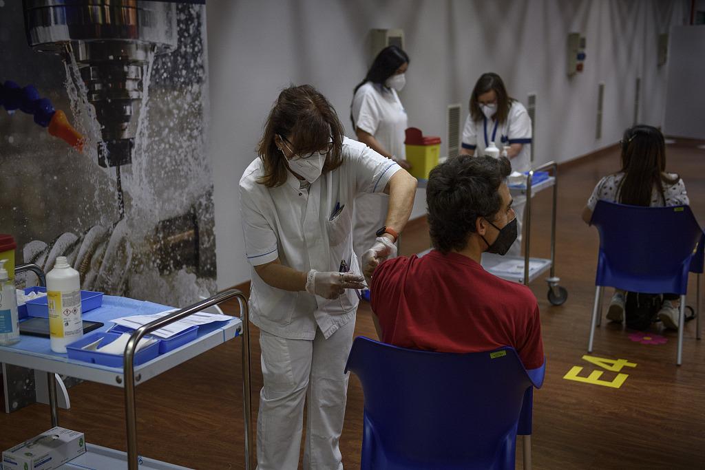 意大利启动新一轮新冠疫苗接种工作