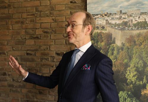 卢森堡驻华大使:俞博生