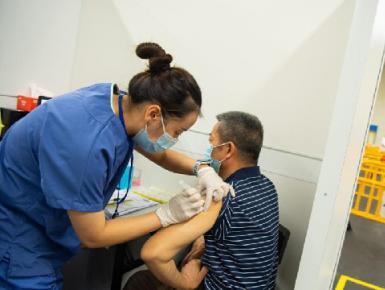澳门增设新冠疫苗社区接种站