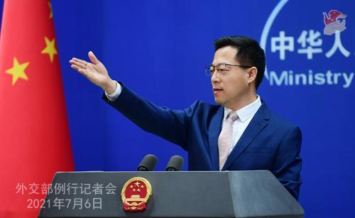 外交部就美拒签中国留学生签证等答问