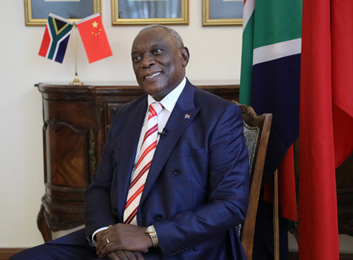 南非驻华大使:谢胜文