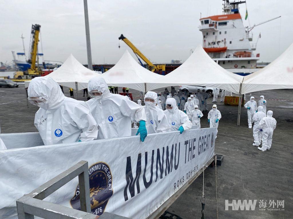 韩国驻亚丁湾护航部队回国 新冠感染率升至88%