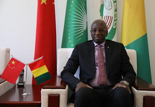 几内亚驻华大使:萨拉马迪·杜尔