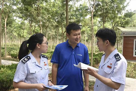河北邢台任泽区税务局提升服务质量 助力乡村经济发展