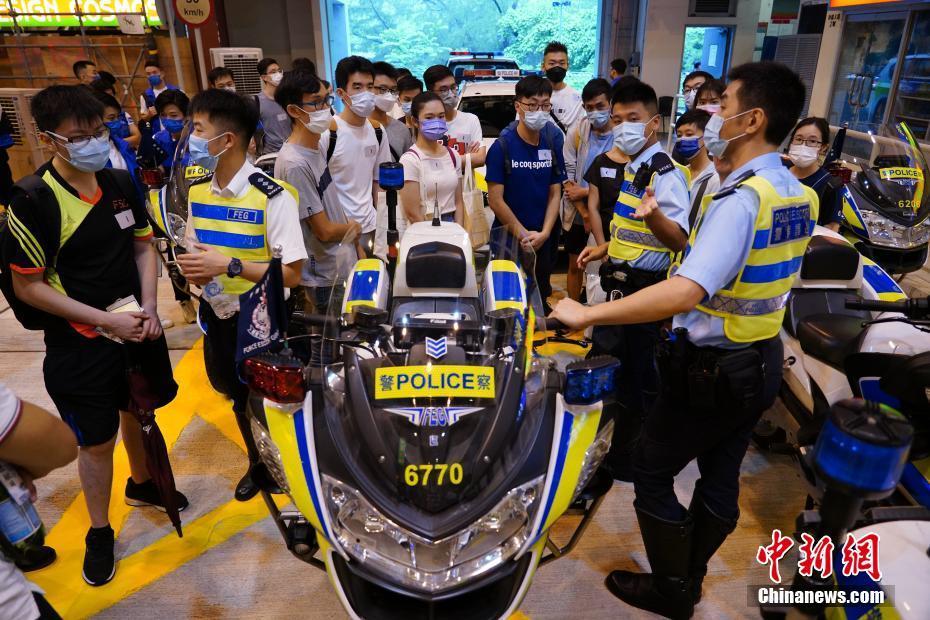 香港警队举办体验日活动 招募见习督察及警员