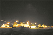 某旅炮兵营开展实弹考核演练