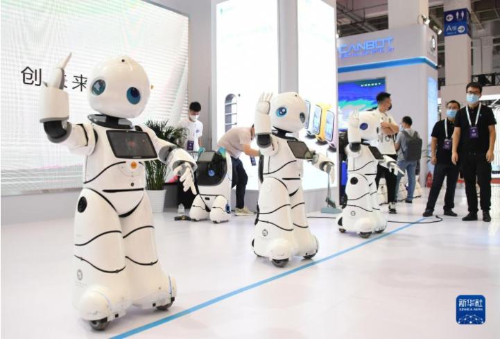 2021世界机器人大会在北京开幕