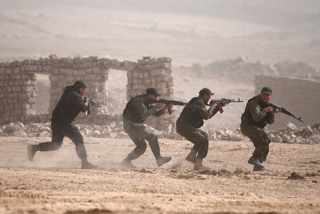 集安组织国家举行联合军演