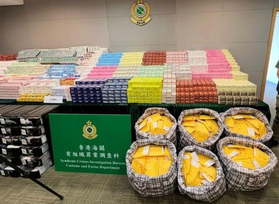 香港海关破获史上最大出口禁药案 订单多来自欧美