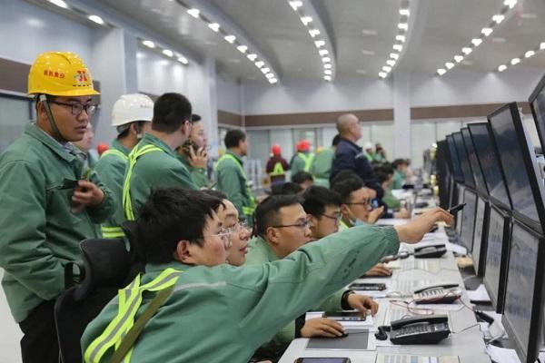 心连心化学工业集团九江60·52·40项目开车成功