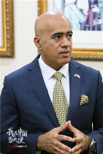 阿联酋驻华大使阿里·扎希里(季星兆 摄影)_副本.png