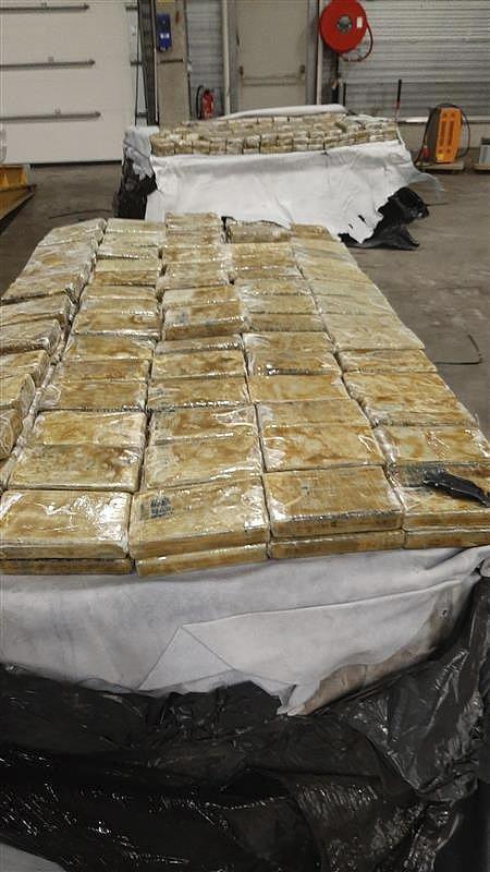 比利时海关过去42天查获超27吨毒品