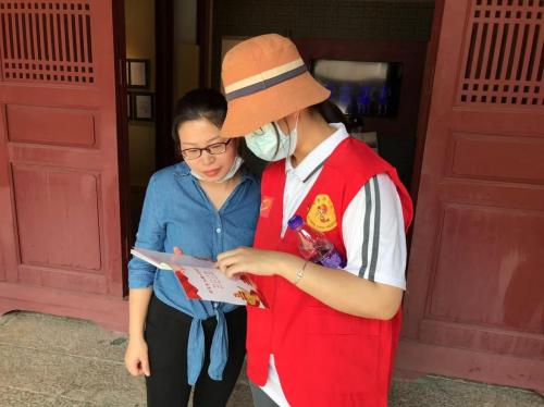 福建泉州:青春点亮文明 志愿聚力创城129.png