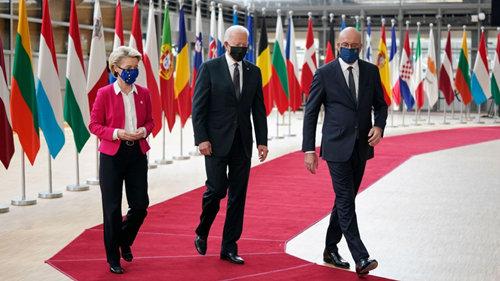 海外網評:美歐峰會口氣大、成果少