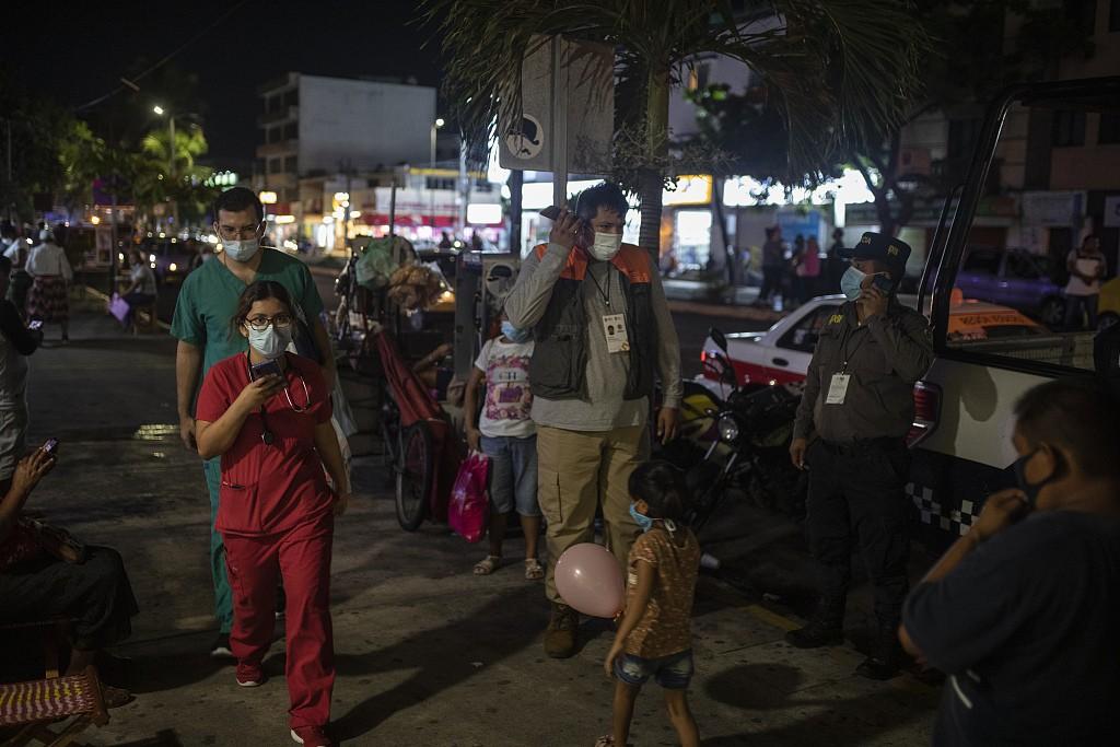 墨西哥南部发生7.1级地震 首都墨西哥城震感强烈