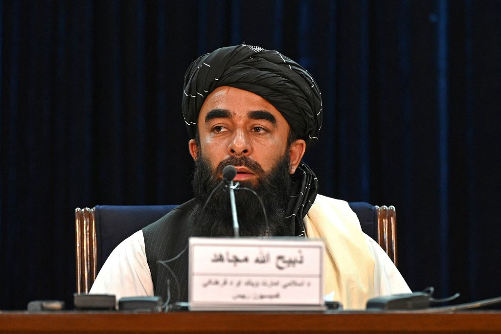 塔利班发言人:一直住在喀布尔 美军经常打听我的下落