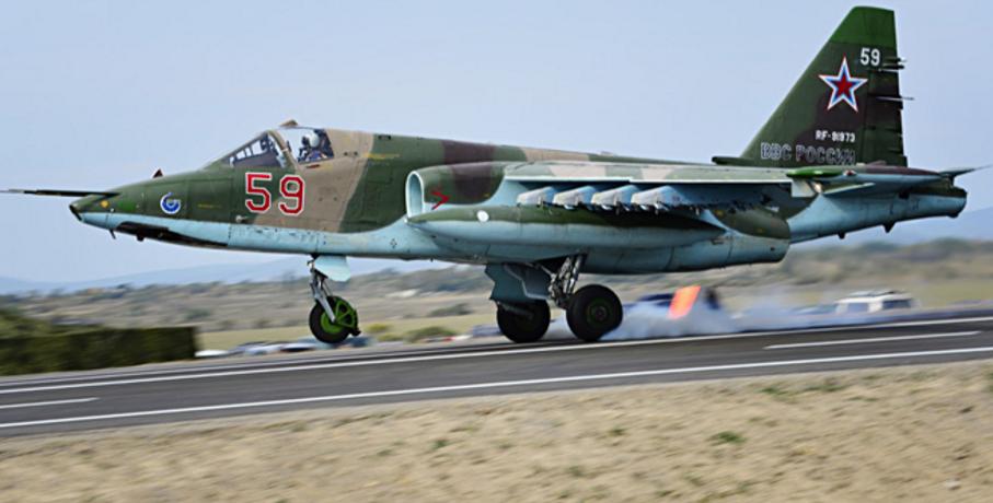 图为苏-25