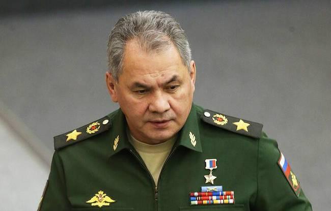 俄罗斯国防部部长谢尔盖·绍伊古