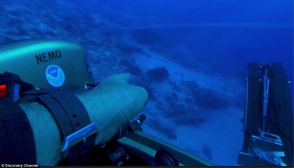 百慕大三角现不明物体 或能证明外星人曾访地球