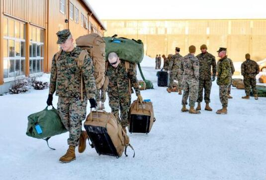 挪威宣布扩大美军在挪部署规模 俄方:将食恶果