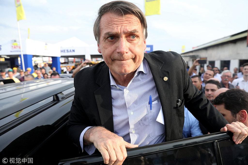 巴西总统候选人贾伊尔·波索纳罗
