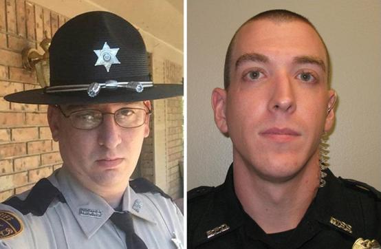 两名殉职警察