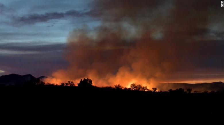 美国一巡逻员办聚会烧掉2万公顷森林 要赔5500万