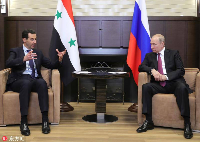 俄叙领导人